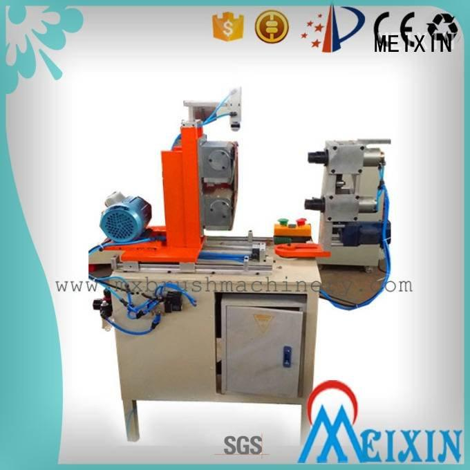MEIXIN automatic filament flaggable Manual Broom Trimming Machine brush