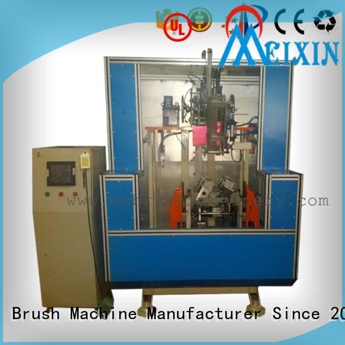 5 Axis Brush Making Machine tufting broom Brush Making Machine MEIXIN Warranty