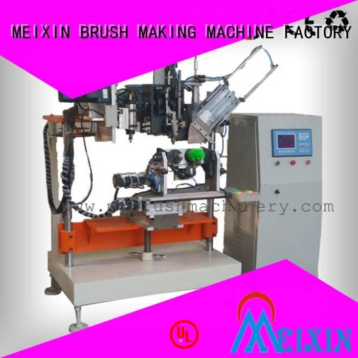 MEIXIN Brand drilling heads 4 Axis Brush Drilling And Tufting Machine brush tufting