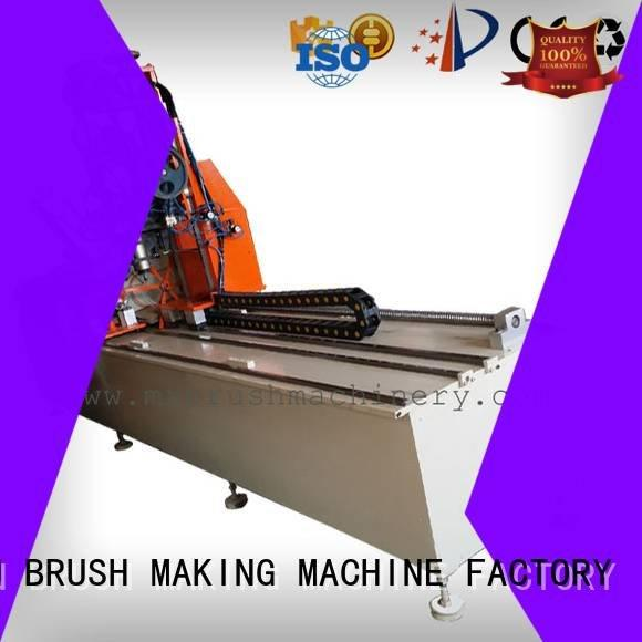 OEM Industrial Roller Brush And Disc Brush Machines axis brush small brush making machine