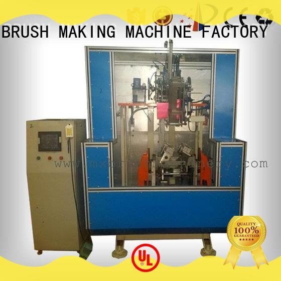 pressure alarm wire brush deburring machine directly sale for toilet brush MEIXIN