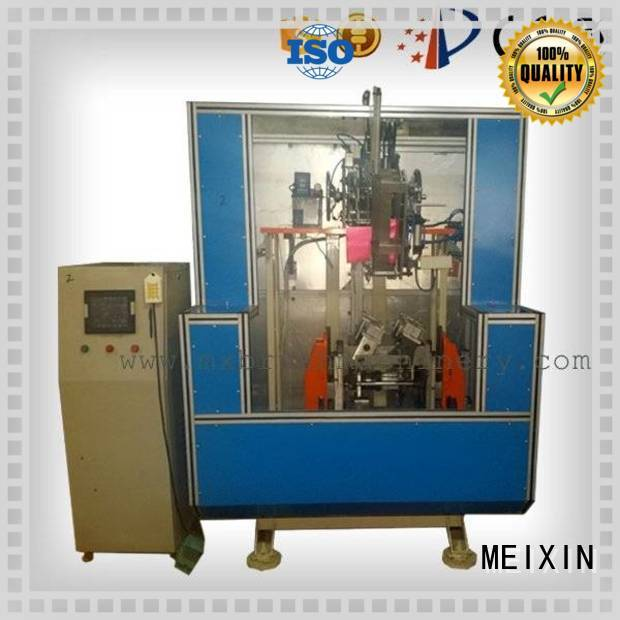 stainless steel brushing machine for broom MEIXIN