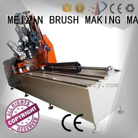 small axis MEIXIN Industrial Roller Brush And Disc Brush Machines