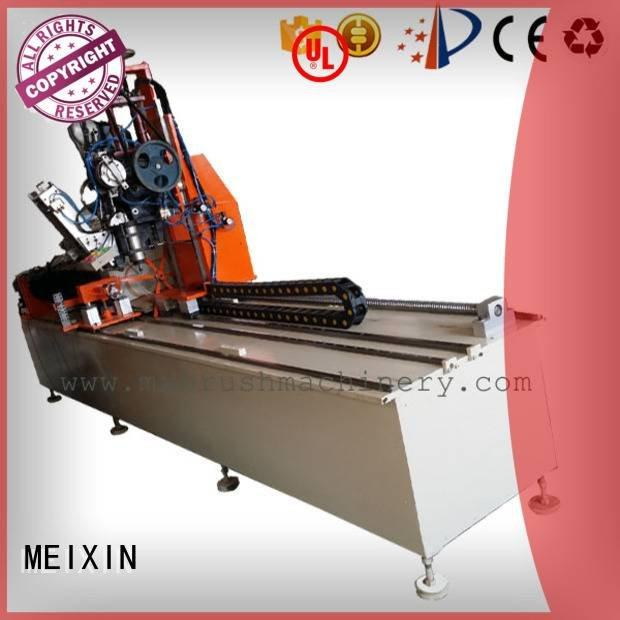 Industrial Roller Brush And Disc Brush Machines drilling axis brush making machine