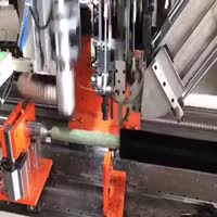 2 axis roller 1 drilling and 1 tufting machine